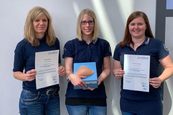 Spezielle Beratung im zertifizierten Brustprothesen-Zentrum des Sanitätshauses Spiegel